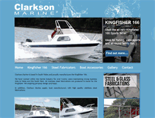 Tablet Preview of clarksonfishingboats.co.uk